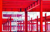 Construção em metal — Foto Stock