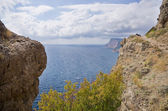 Mountains and sea — Stock Photo