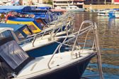 Barcos a motor — Foto de Stock