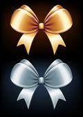 Classic bows — Stockvector