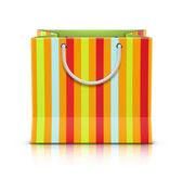 Paper shopping bag — Stock Vector