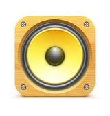 Sound loud speaker — Stock Vector