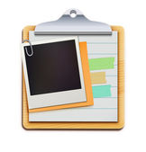 Clipboard — Vector de stock
