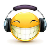 Musical emoticon — Stockfoto
