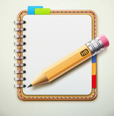 Notebook — Foto Stock