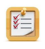 Checklist. — Stockfoto