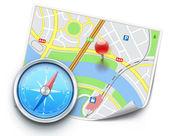Navigation concept — Stock Vector