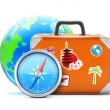 Travel concept — Stock Vector