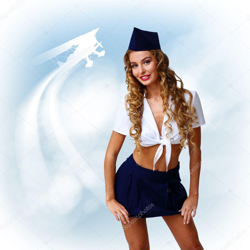 Фото пилотки в юбке 19 фотография