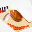 Woman is getting manicure — Stock Photo #12436259