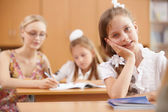 Teacher at school — Foto Stock