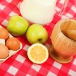 Brown chicken eggs — Stock Photo