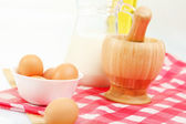 Brown chicken eggs — Stock fotografie