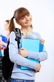Student with books — Stock Photo