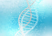 DNA strand illustration — Stock Photo