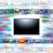 A flat screen television — Stock Photo #12559806