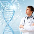 DNA strand illustration — Stock Photo #12559939