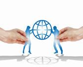 Simbolo della partnership di successo — Foto Stock