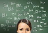 Ideas and creativity in business — Stock Photo