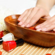 Woman is getting manicure — Stock Photo #12782722