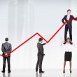 Business Growth And Success Graph — Stock Photo #13365188