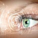 Digital eye — Stock Photo #13383319