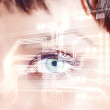 Digital eye — Stock Photo #13383393