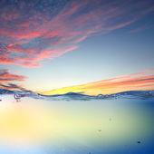 Sundown seascape — Stock Photo