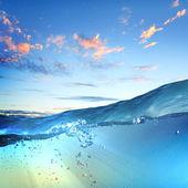Seascape Sundown — Fotografia Stock