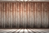 Wooden panel wall interior... — Stock Photo