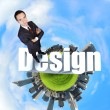 Design and creativity concept - Stock Photo