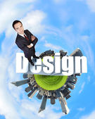 Design and creativity concept — Stock Photo