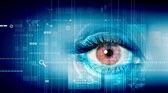 Digital öga — Stockfoto
