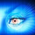 Digital eye — Stock Photo #13743428