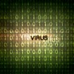 Computer virus symbol — Stock Photo #13743492