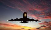 Aereo passeggeri di grandi dimensioni — Foto Stock