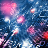 Ilustração de tecnologia — Foto Stock