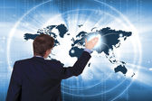 Internet begreppet global teknik — Stockfoto