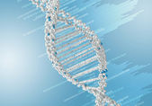 DNA Strand — Stock Photo