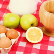 brown chicken eggs — Stock Photo