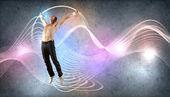 современный стиль танцор позирует — Стоковое фото