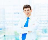 Portrait of a businessman... — Stock Photo