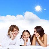 年轻的家庭的梦想 — 图库照片