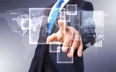 Tecnología en negocios — Foto de Stock