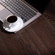 Coffee at business workplace — Stock Photo #14876901