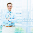 Stock Photo: Portrait of a businessman...