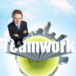 Teamwork - Foto Stock