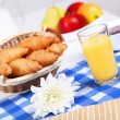 Continental breakfast - Foto Stock