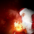 Christmas theme with santa — Stock Photo #15773811