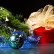 New Year's still life — Stock Photo #15775351